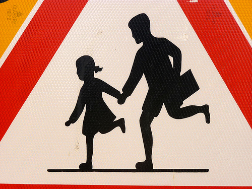 Children Passing - Road Sign